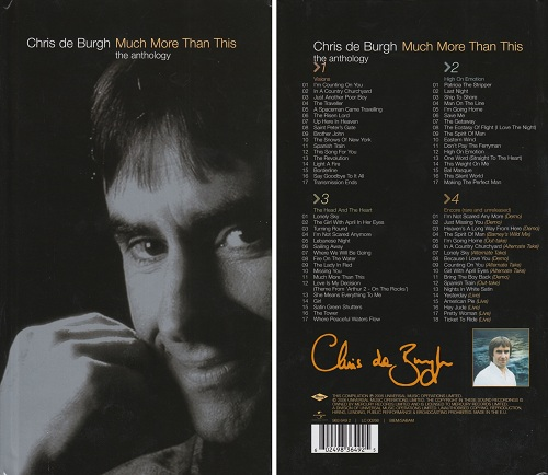 Much More Than This (CD3) - Chris De Burgh