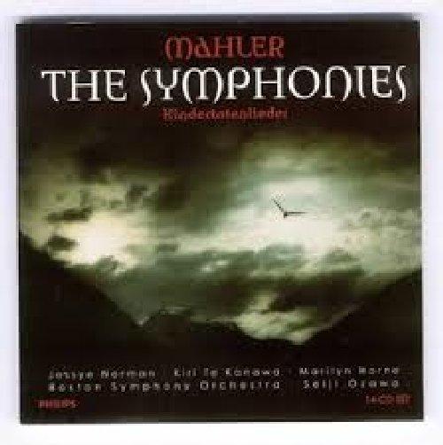 Mahler - The Symphonies - Kindertotenlieder CD 8 - Seiji Ozawa - Boston Symphony Orchestra