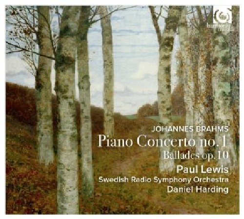 Brahms - Piano Concerto 1 & Ballades Op.10 - Paul Lewis - Daniel Harding - Swedish Radio Symphony Orchestra