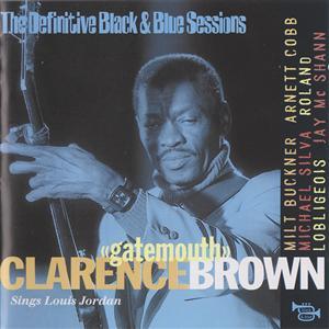Sings Louis Jordan - Clarence 'Gatemouth' Brown