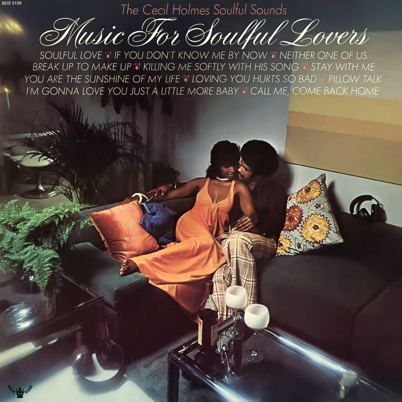 Music for Soulful Lovers - The Cecil Holmes Soulful Sounds