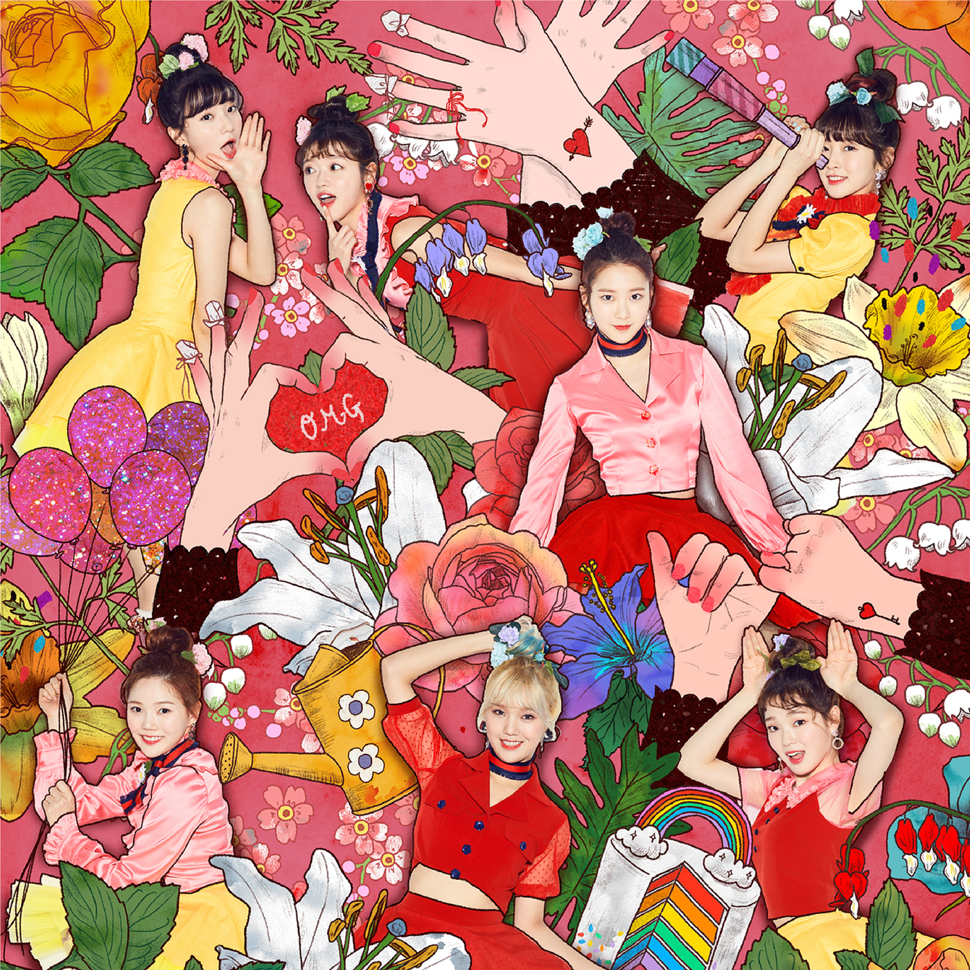 COLORING BOOK - OH MY GIRL