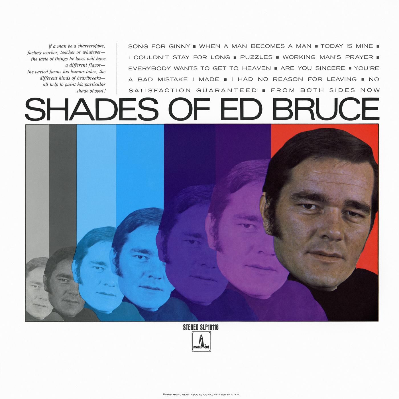 Shades of Ed Bruce - Ed Bruce