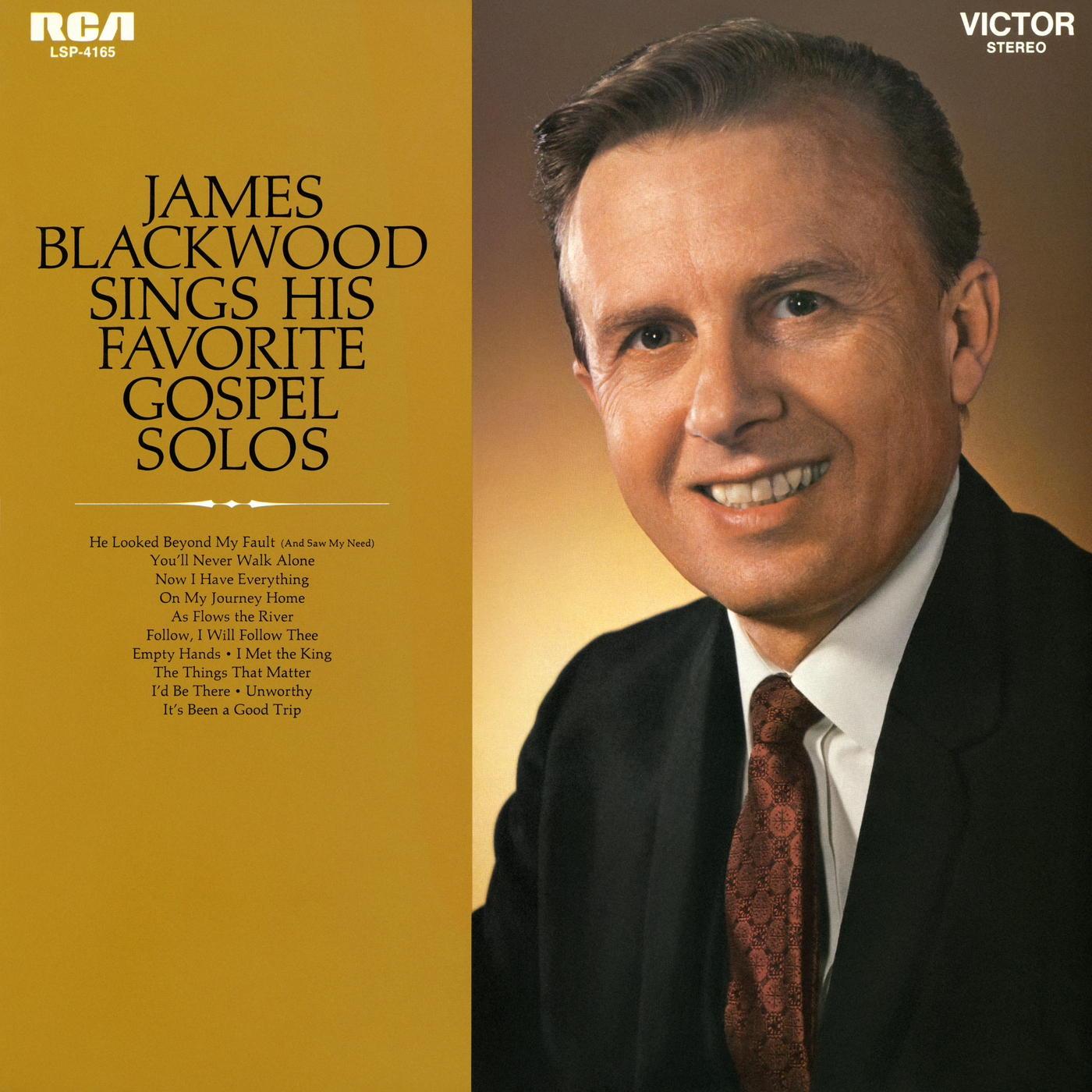 Sings His Favorite Gospel Solos - James Blackwood