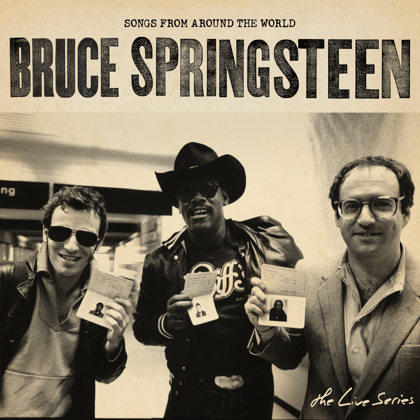 The Live Series: Songs from Around the World - Bruce Springsteen