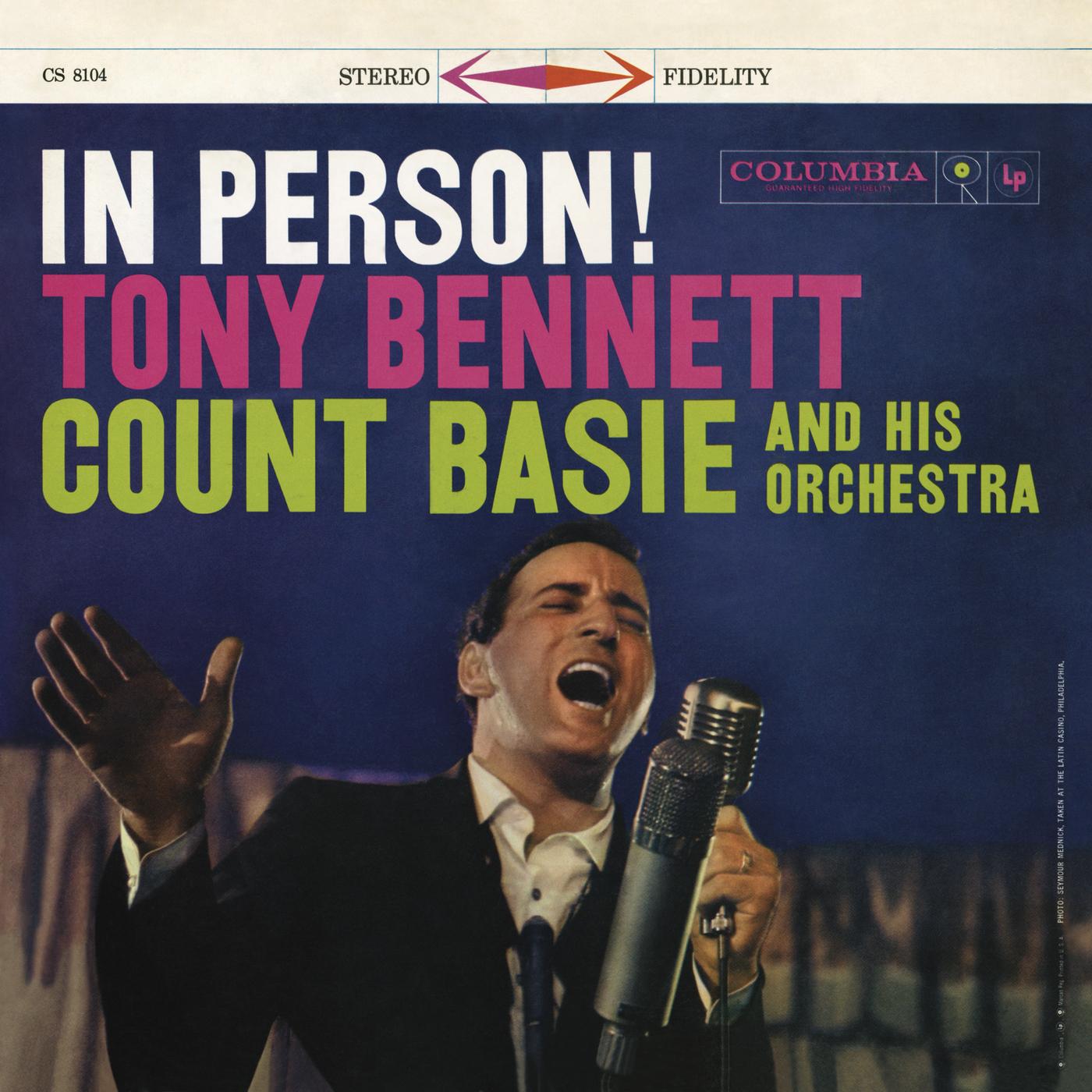 In Person! - Tony Bennett