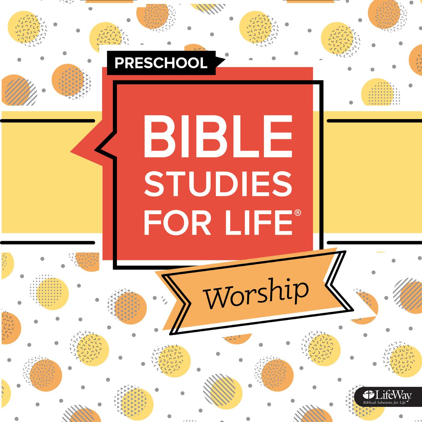 Bible Studies for Life Preschool Worship Winter 2020 - Lifeway Kids