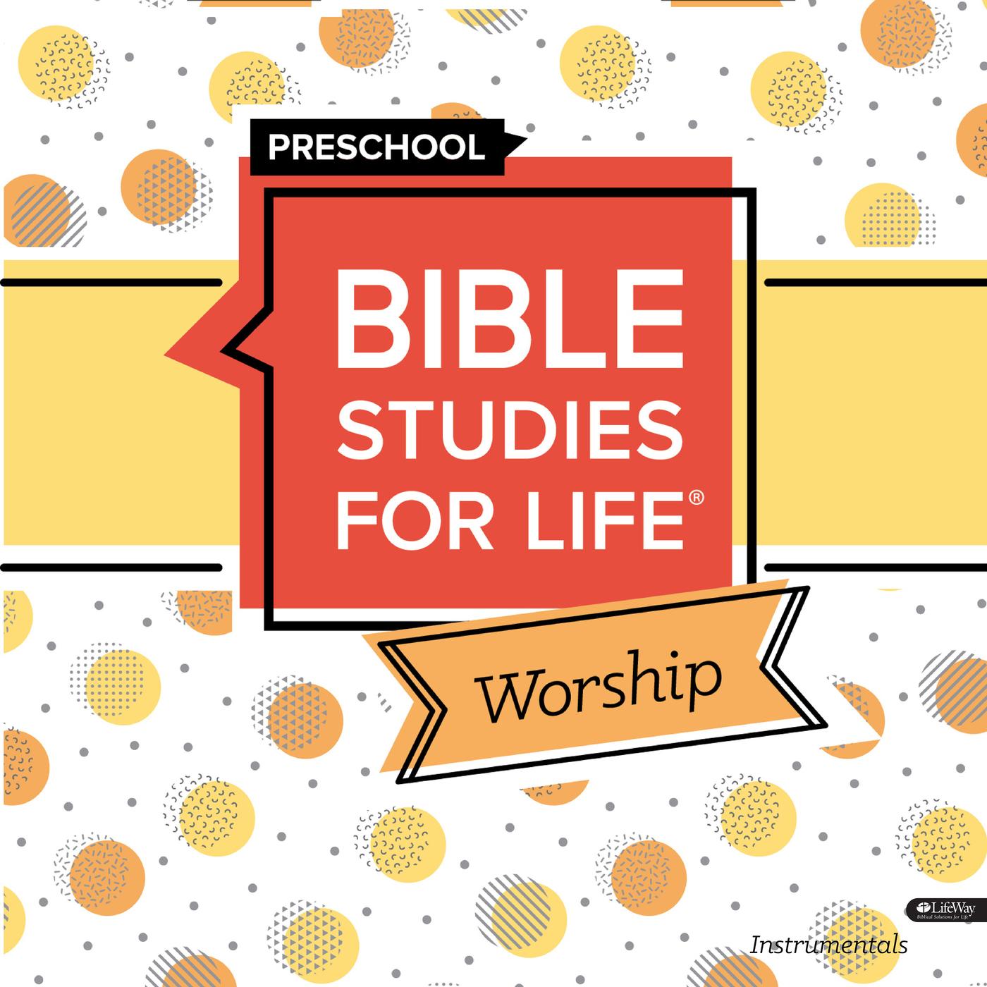 Bible Studies for Life Preschool Worship Instrumentals Winter 2020 - Lifeway Kids