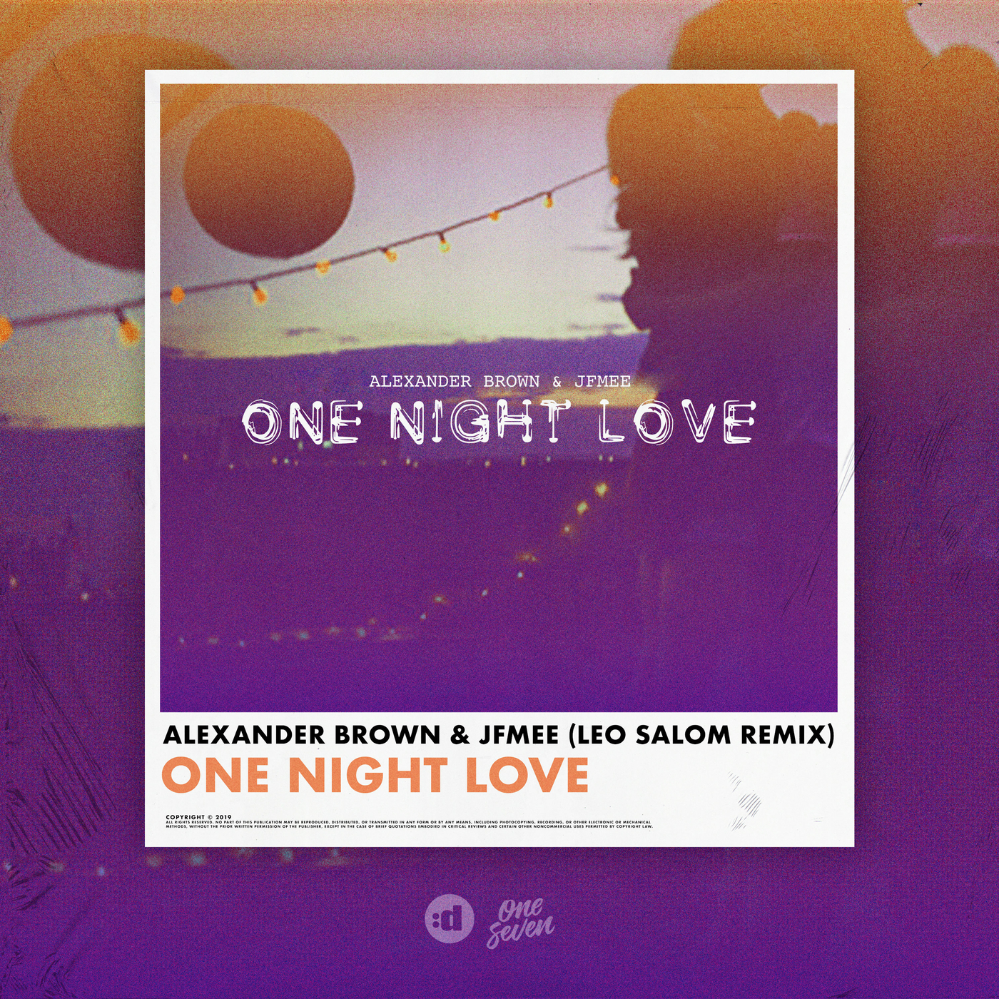 One Night Love (Leo Salom Remix) - Alexander Brown