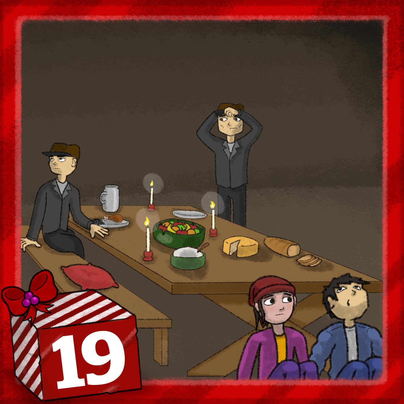 Julkalendern 2019 - Spåren i snön (Avsnitt 19) - Julkalender