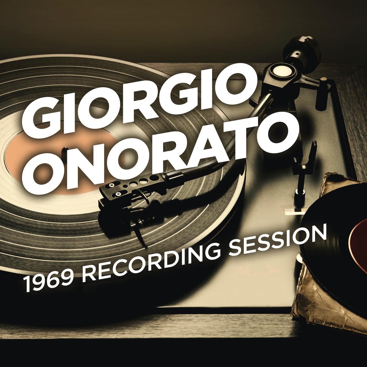 1969 Recording Session - Giorgio Onorato