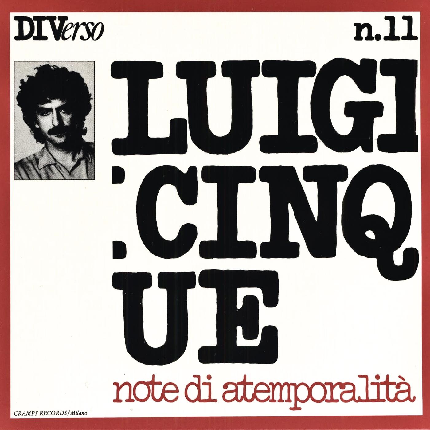 Note di atemporalità - Luigi Cinque