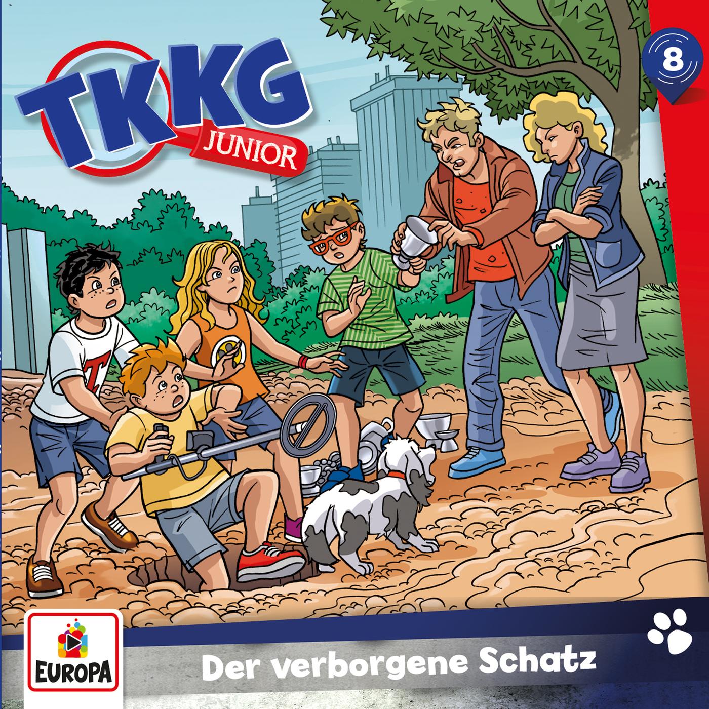 008/Der verborgene Schatz - TKKG Junior
