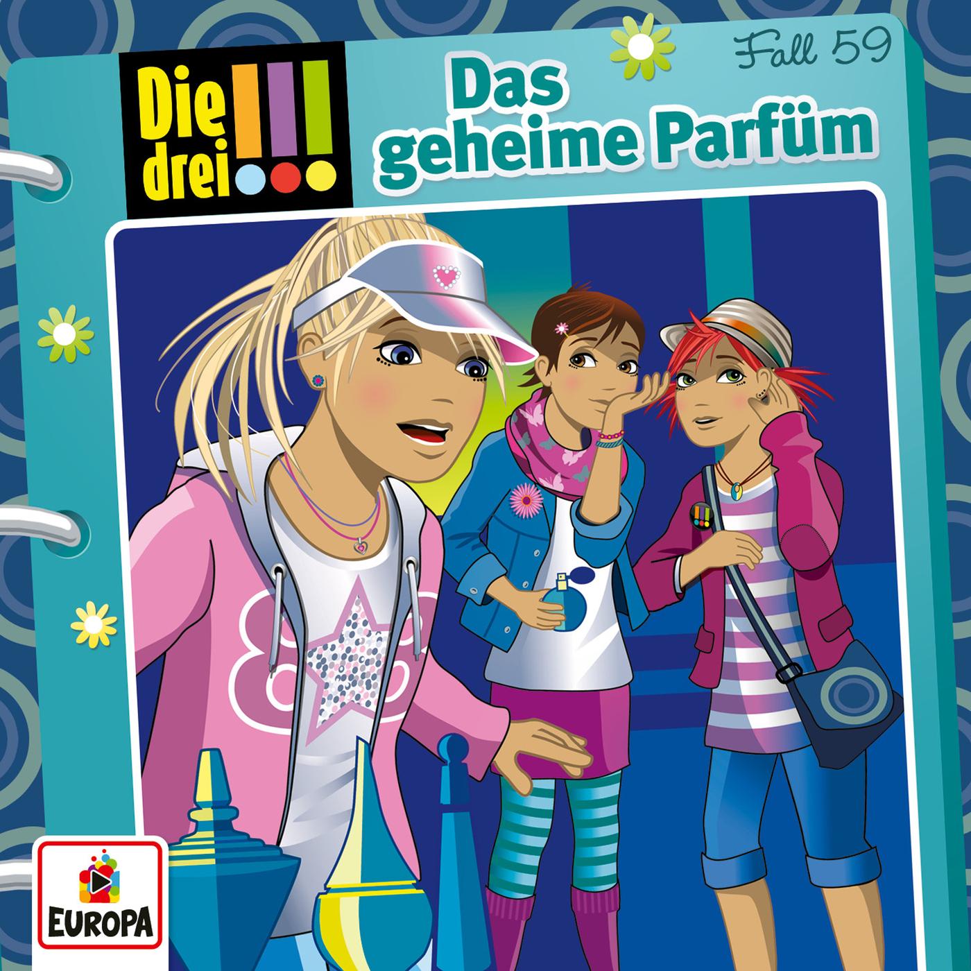 059/Das geheime Parfüm - Die drei !!!