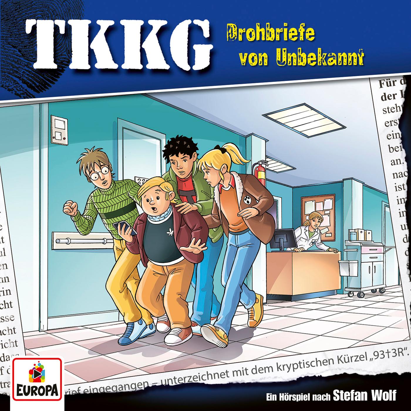209/Drohbriefe von Unbekannt - TKKG