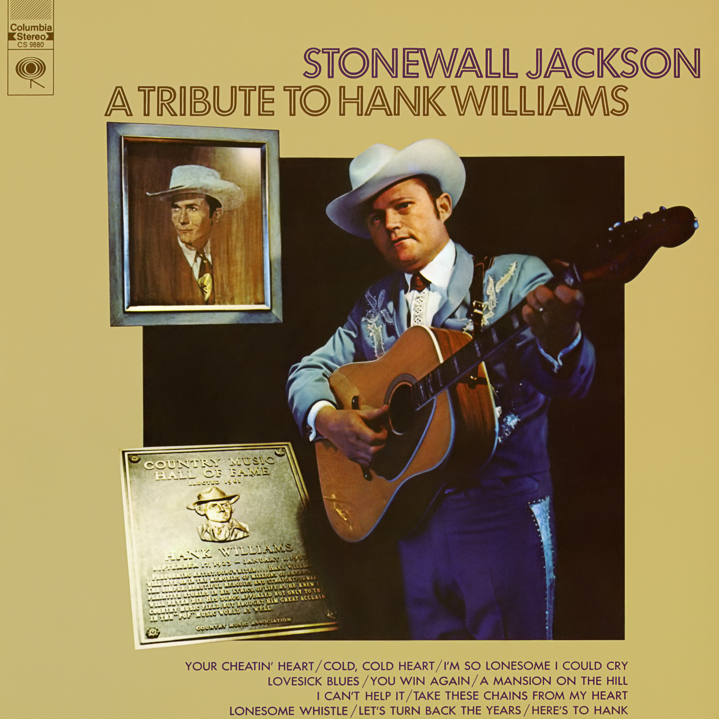 A Tribute to Hank Williams - Stonewall Jackson