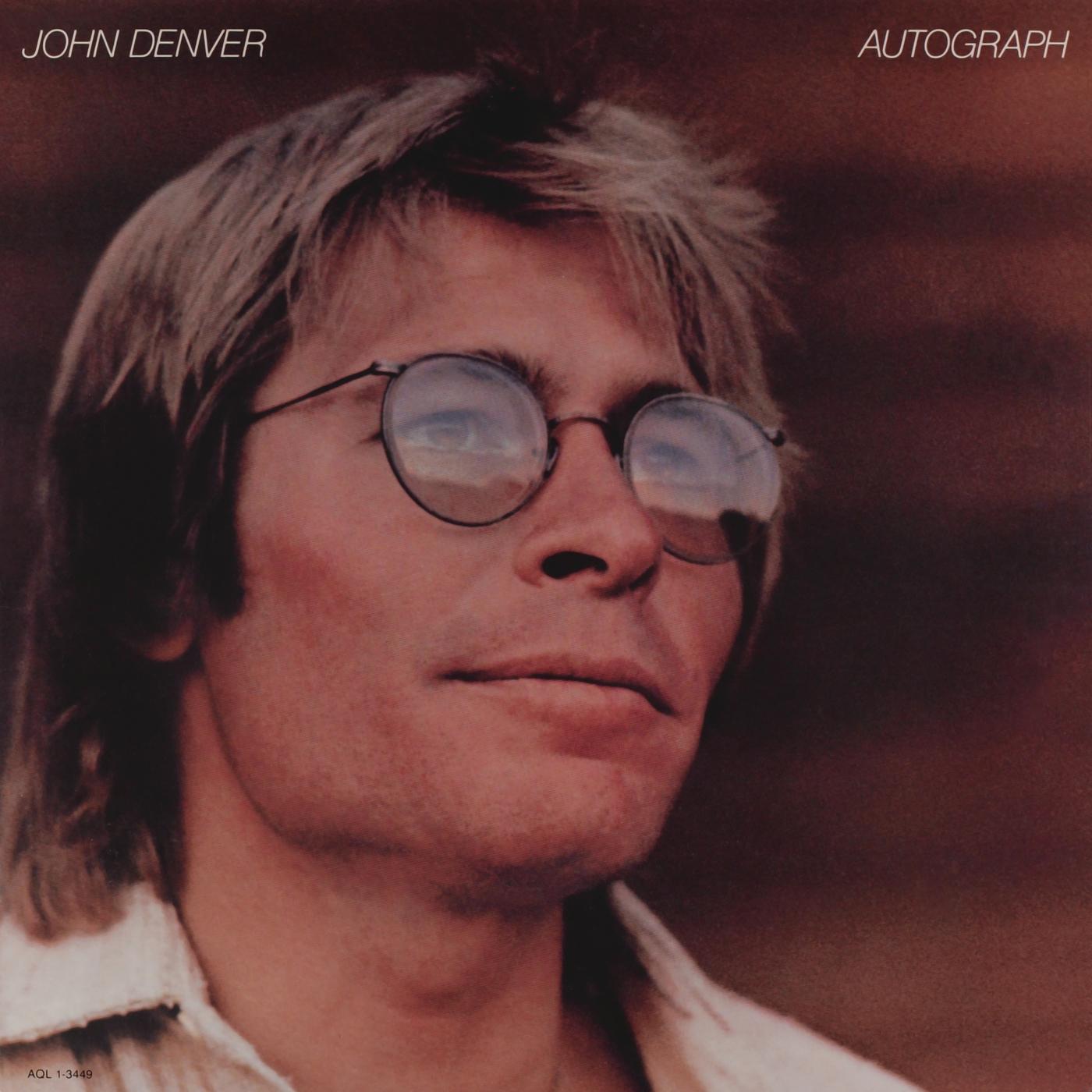 Autograph - John Denver