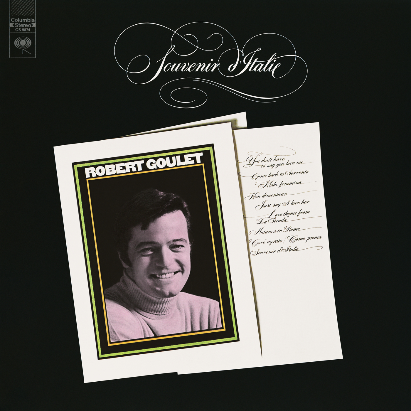 Souvenir D'Italie - Robert Goulet