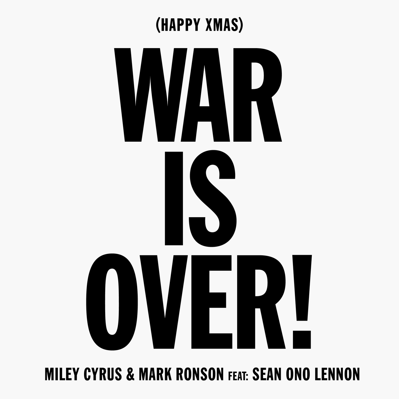 Happy Xmas (War Is Over) - Miley Cyrus