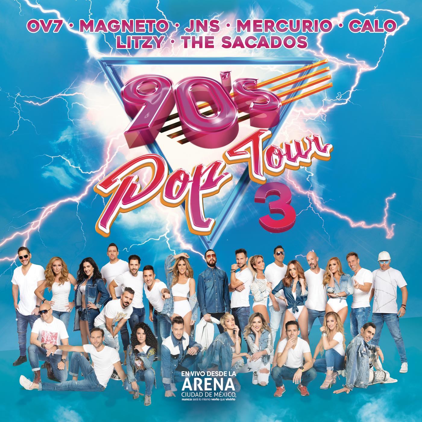 90's Pop Tour, Vol. 3 (En Vivo) - Various Artists