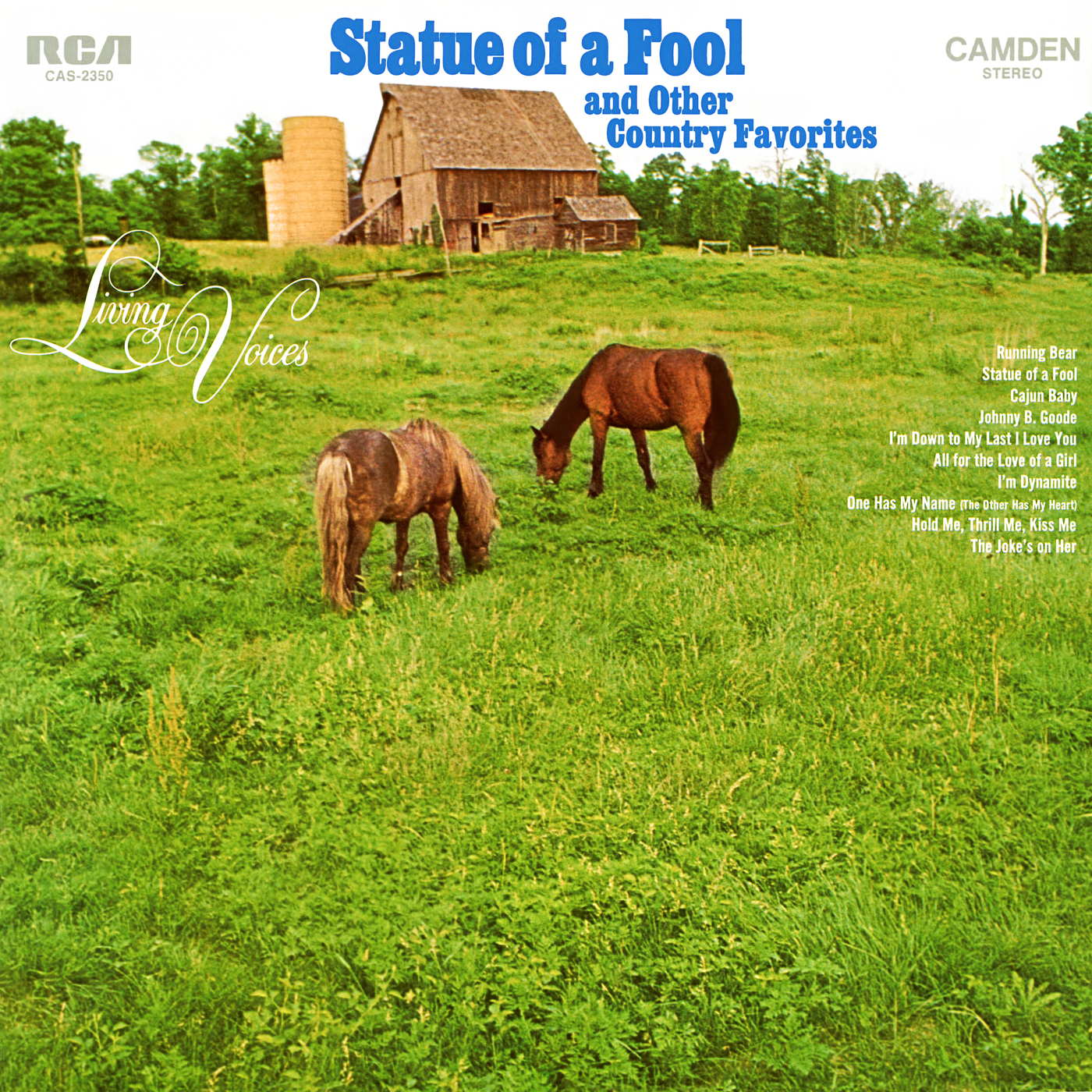 Statue of a Fool and Other Country Favorites - Living Voices