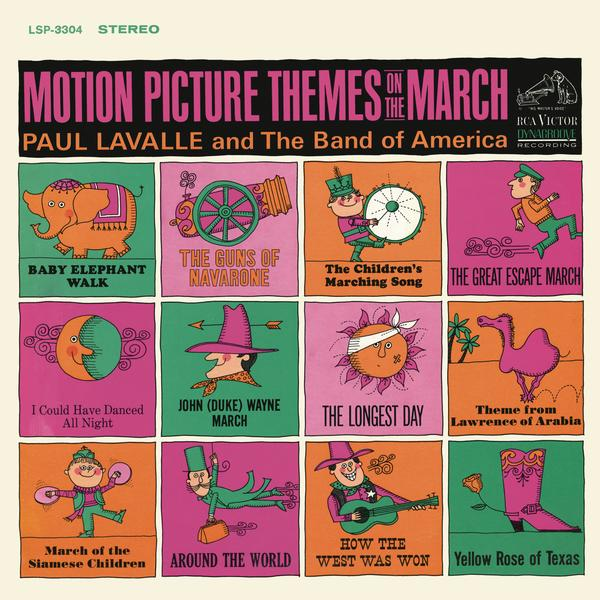 Motion Picture Themes On the March - Paul Lavalle
