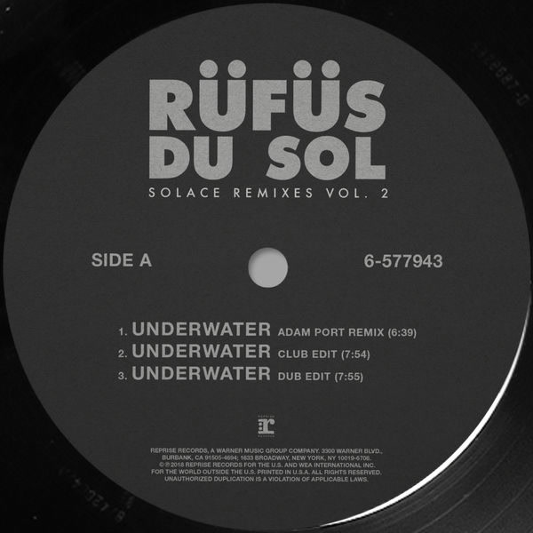 Solace (Remixes) (Vol. 2) - RÜFÜS DU SOL