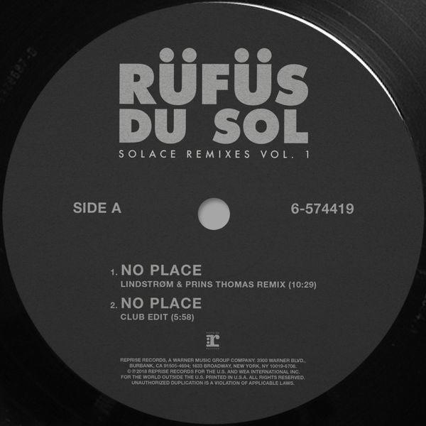 Solace (Remixes) (Vol. 1) - RÜFÜS DU SOL