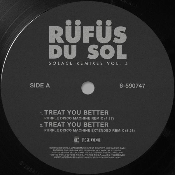 Solace (Remixes) (Vol. 4) - RÜFÜS DU SOL