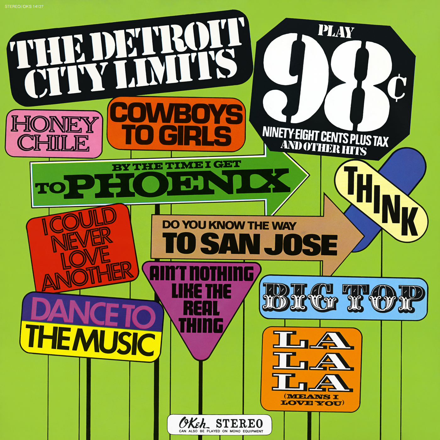 98c Ninety-Eight Cents Plus Tax and Other Great Hits - The Detroit City Limits