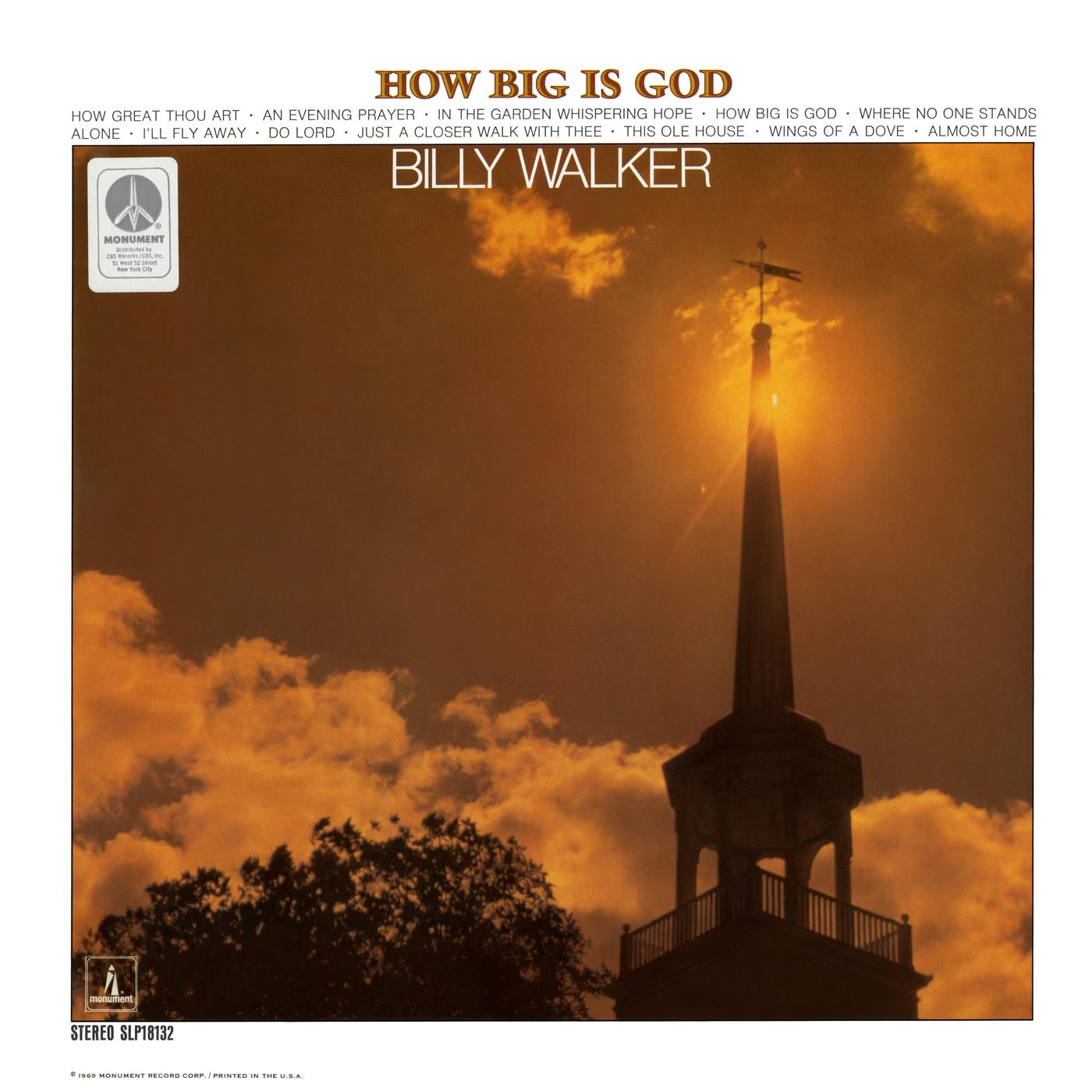 How Big Is God - Billy Walker
