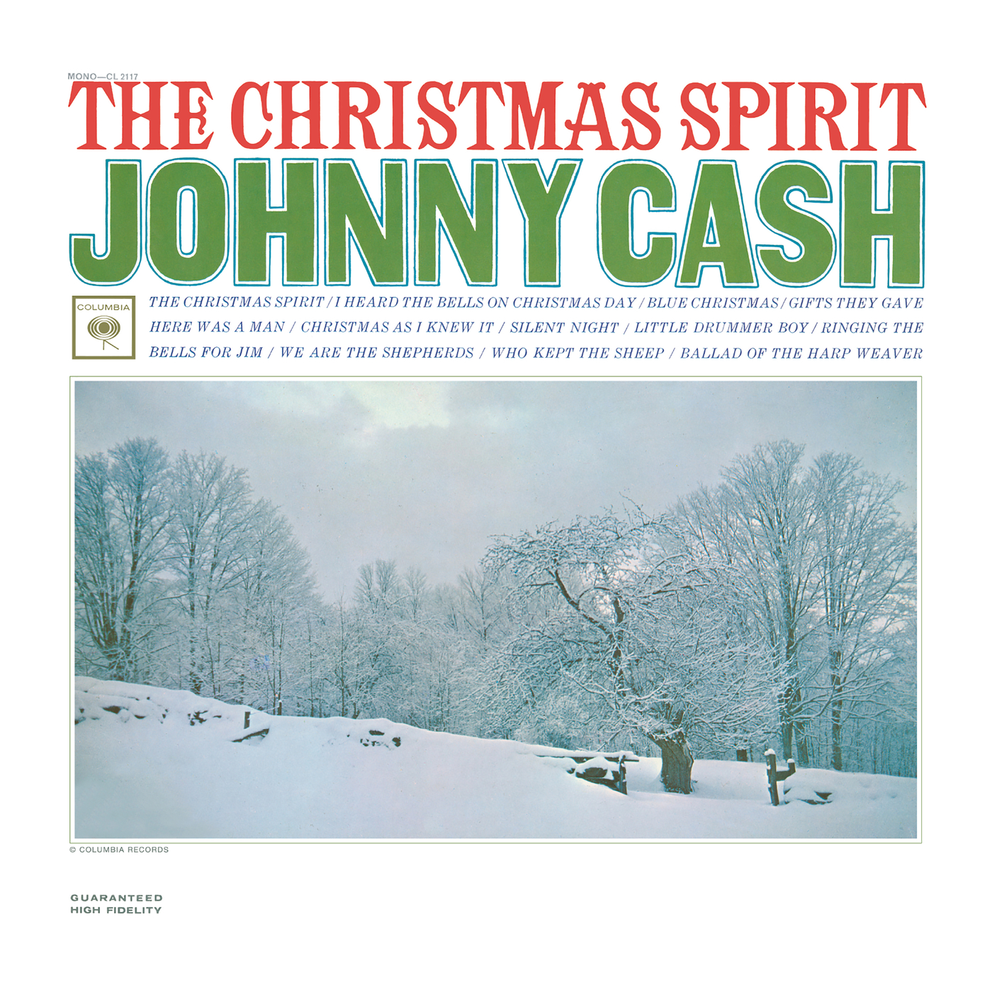 The Christmas Spirit - Johnny Cash