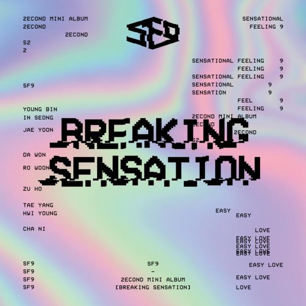 Breaking Sensation (2nd Mini Album) - SF9