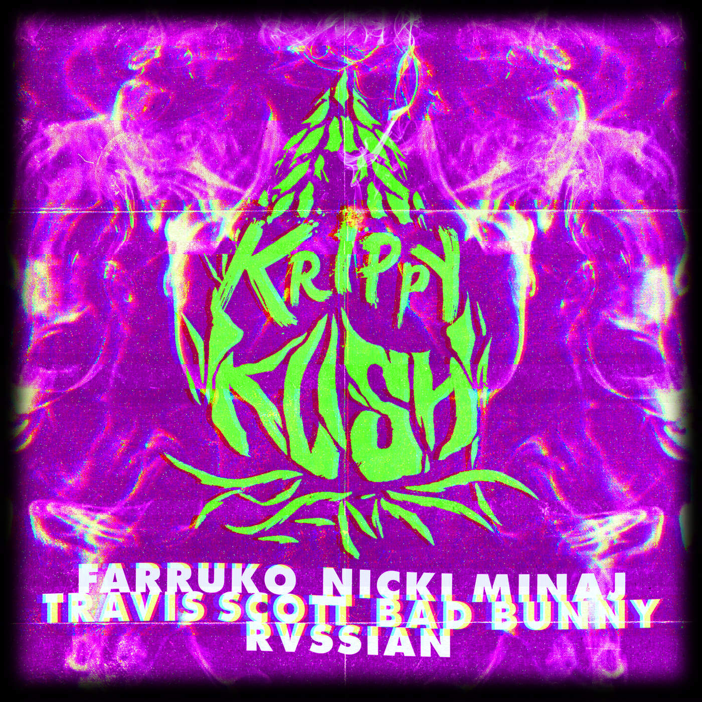 Krippy Kush (Travis Scott Remix) (Single) - Farruko - Nicki Minaj - Travis Scott