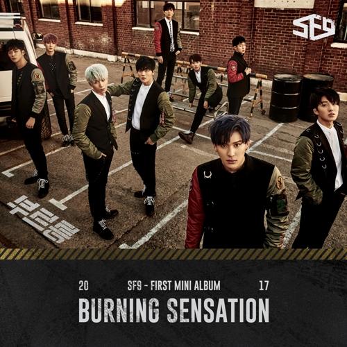 SF9 First Mini Album (Burning Sensation) - SF9