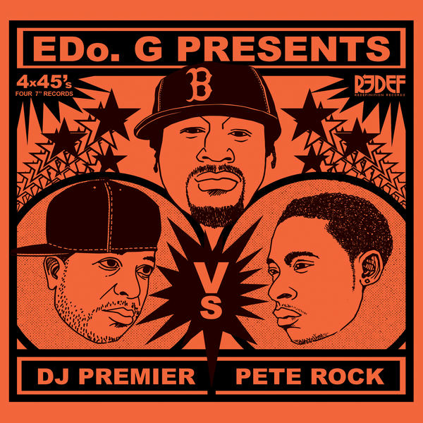 Edo. G Presents DJ Premier VS Pete Rock - Edo. G - DJ Premier - Pete Rock