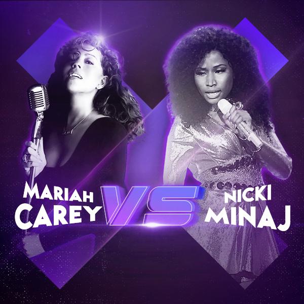 Mariah Carey vs Nicki Minaj - Mariah Carey - Nicki Minaj