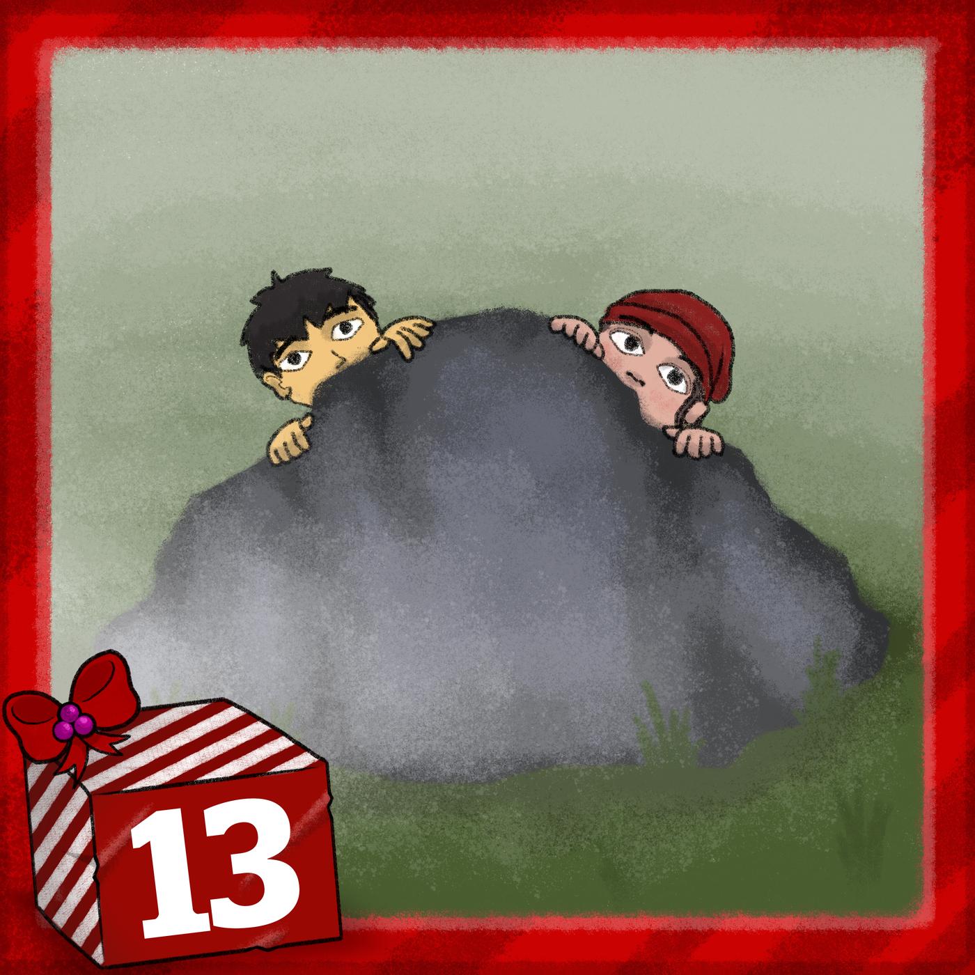 Julkalendern 2019 - Spåren i snön (Avsnitt 13) - Julkalender