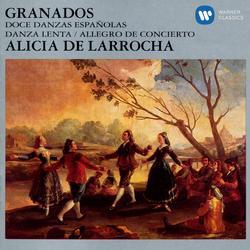 Doce Danzas Espanolas/Danza Lenta/Allegro De Conceierto - Alicia De Larrocha