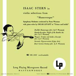 """Violin Selections from """"Humoresque"""" - Isaac Stern"""