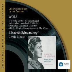 Wolf: Lieder - Elisabeth Schwarzkopf
