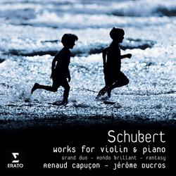 Schubert Grand Duo - Renaud Capucon
