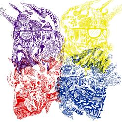 Purple Yellow Red and Blue - Portugal. The Man