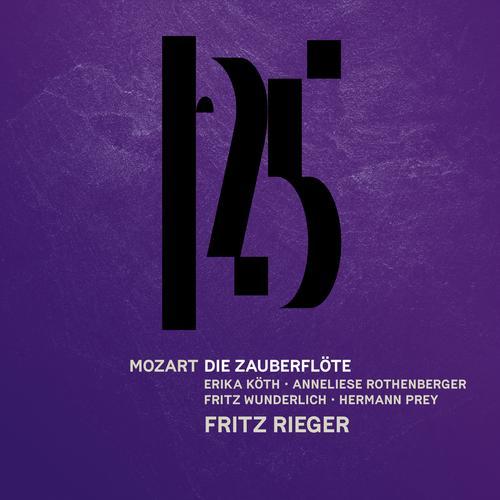 Mozart: Die Zauberflöte (Live) - Fritz Rieger