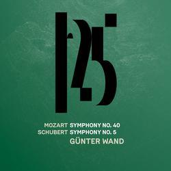 Mozart: Symphony No. 40 - Schubert: Symphony No. 5 (Live) - Münchner Philharmoniker