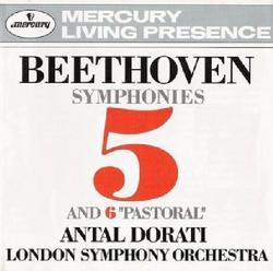 Beethoven Symphonies 5 & 6 - Antal Doráti,London Symphony Orchestra - London Symphony Orchestra