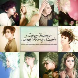 Sexy, Free & Single (Japanese Version) - Super Junior