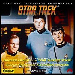 Star Trek: Volume 3 - The Naked Time OST - Alexander Courag - Gerald Fried