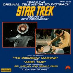 Star Trek: Volume 2 - The Doomsday Machine And Amok Time OST (Pt.1) - Sol Kaplan - Gerald Fried