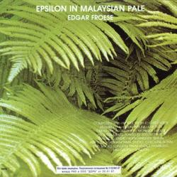 Epsilon In Malaysian Pale - Edgar Froese